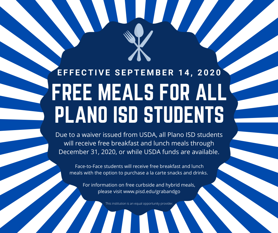 PISD Free Meals
